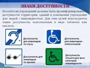 Знаки доступности